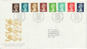 1988-08-23 Machin Definitive Bureau FDC (46204)