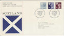 1978-01-18 Scotland Definitive Edinburgh FDC (46215)