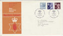 1978-01-18 N Ireland Definitive Belfast FDC (46216)