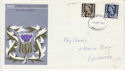 1968-09-04 Scotland Definitive Edinburgh FDC (46220)