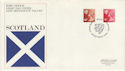 1976-10-20 Scotland Definitive Edinburgh FDC (46268)