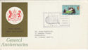 1970-04-01 Anniversaries ICA London W1 FDC (46315)