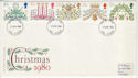 1980-11-19 Christmas Stamps Hull FDI (46345)