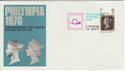 1970-09-26 Philympia Europa Day London Pmk (46359)