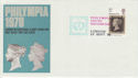 1970-09-22 Philympia United Nations Day London Pmk (46363)