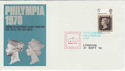 1970-09-21 Philympia Post Office Day London Pmk (46364)