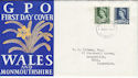 1967-03-01 Wales Definitive Cardiff FDC (46367)