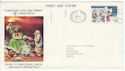 1973-11-28 Christmas Liverpool Slogan FDC (46432)