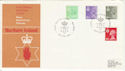 1982-02-24 N Ireland Definitive Belfast FDC (46537)
