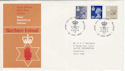 1983-04-27 N Ireland Definitive Belfast FDC (46565)