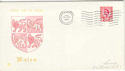 1969-02-26 Wales Definitive FDC (46587)