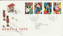 1989-05-16 Games and Toys Bureau FDC (46661)