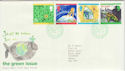 1992-09-15 Green Issue Bureau FDC (46681)