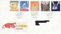1995-05-02 Peace and Freedom Bureau FDC (46841)