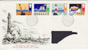 1985-06-18 Safety at Sea Bureau FDC (46904)