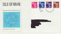 1971-07-07 IOM Definitive Douglas FDC (46989)