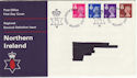 1971-07-07 N Ireland Definitive Belfast FDC (46992)