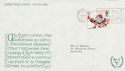 1981-11-18 Christmas Guildford Slogan FDC (47144)