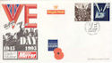 1995-05-02 VE Day London EC4 FDC (47152)