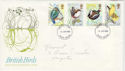 1980-01-16 British Birds FDC (47451)