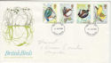 1980-01-16 British Birds FDC (47452)