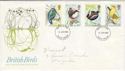 1980-01-16 British Birds FDC (47453)