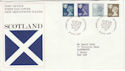 1981-04-08 Scotland Definitive Edinburgh FDC (47521)