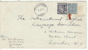 1956 Finland to London Cover (47625)