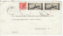 1956 Italy to London Cover (47640)