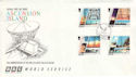 1996-09-09 Ascension BBC Relay Station FDC (47716)