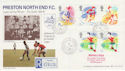 1988-03-22 Preston North End FC Preston cds FDC (47782)
