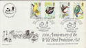 1980-01-16 West Midland Bird Club Official FDC (47796)