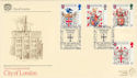 1984-01-17 Heraldry London G&P Official FDC (47801)