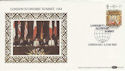 1984-06-05 London Economic Summit Silk FDC (47817)
