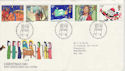 1981-11-18 Christmas Stamps Bethlehem FDC (47833)