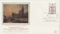 1986-08-19 Parliamentary Conference Silk FDC (47845)