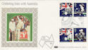 1988-06-21 Australian Bicen Cricket Lords FDC (47847)