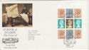 1985-01-08 The Times Bklt Pane London WC FDC (47996)