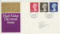 1970-06-17 High Value Definitive BUREAU FDC (48039)