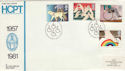 1981-03-25 Disabled Year Scarce HCPT Official FDC (48082)