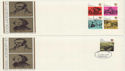 1970-06-03 Dickens / Wordsworth Pair FDC (48091)