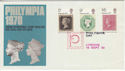 1970-09-18 Philympia London FDC (48106)