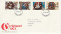 1974-11-27 Christmas Stamps Reading FDI (48170)
