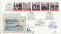1994-06-06 D-Day HMS Fearless Portsmouth FDC (48303)