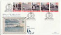 1994-06-06 D-Day HMS Fearless Portsmouth FDC (48304)
