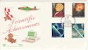 1991-03-05 Scientic Achievements Faraday London FDC (48344)