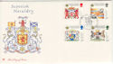 1987-07-21 Scottish Heraldry Bannockburn FDC (48379)