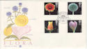 1987-01-20 Flowers Wisley Woking FDC (48383)