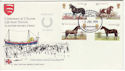 1978-07-05 Horses RNLI Clacton Official No37 FDC (48403)