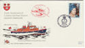 1980-08-04 RNLI Official No62 Queen Mother FDC (48407)